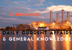 Daily Current Affairs & GK