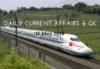 Daily Current Affairs & GK Questions 11 May 2019