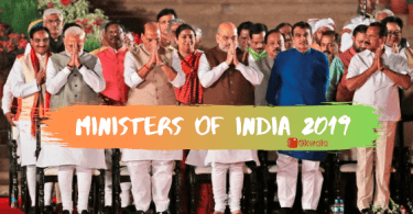 Indian Cabinet Ministers list