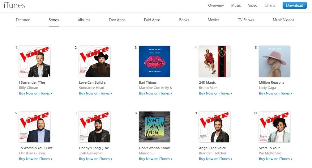 Itunes top ten also out vocalist billy gilman tops the charts and soars with   rh glaad