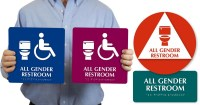 MyDoorSign.com donating all-gender bathroom signs to ...