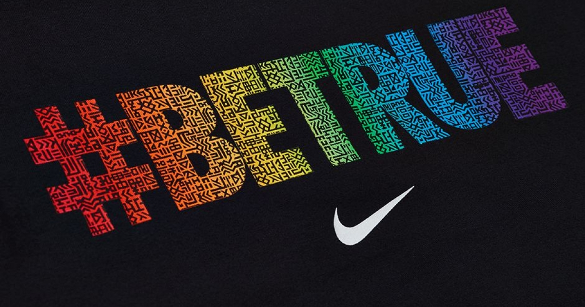 Nike releases the LGBTinspired 2015 BETRUE collection  GLAAD