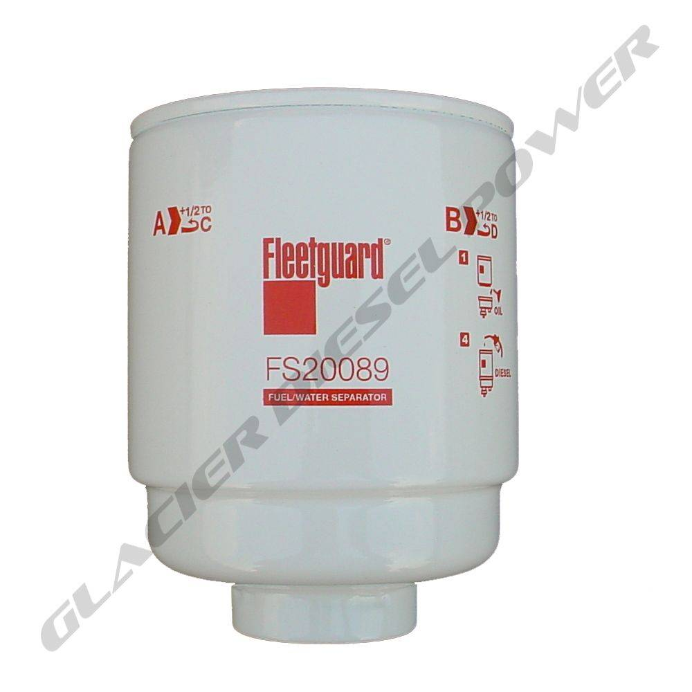 hight resolution of fleetguard 13 18 fleetguard fs20089 primary fuel water separator filter