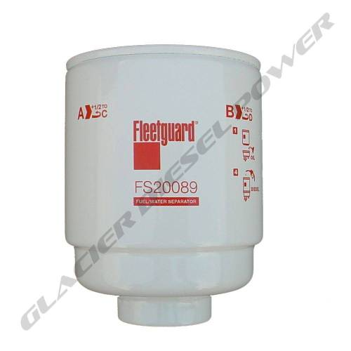 small resolution of fleetguard 13 18 fleetguard fs20089 primary fuel water separator filter