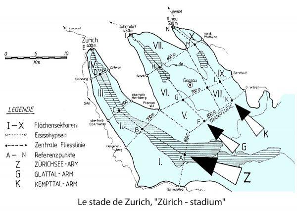 Le glacier de la Linth au stade de Zurich