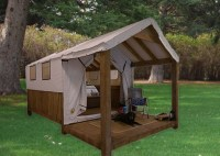 Canvas Frame Tent