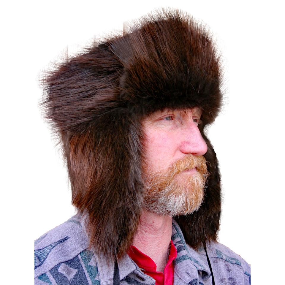 Glacier Wear  Beaver Trooper Style Fur Hat For Sale