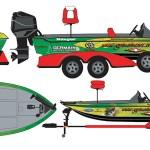 Vinyl Wraps | Boat -Ranger