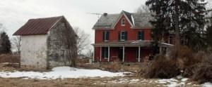 Home and Building Razed at Future Mill Run Development