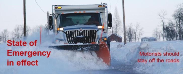 Snow Emergency In Effect