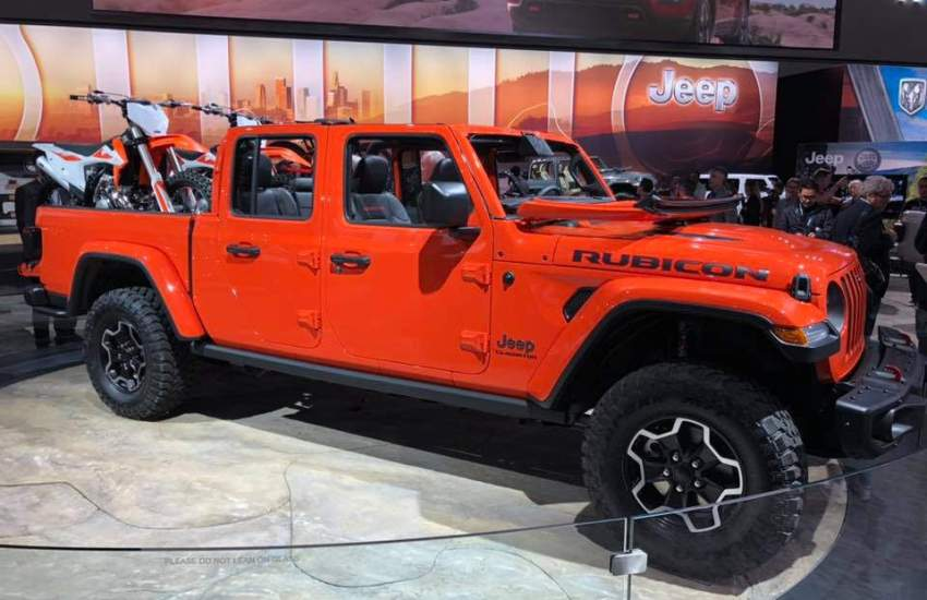 Auto Show 2020 Cleveland.The 2020 Jeep Gladiator Checks Off The Cleveland Auto Show
