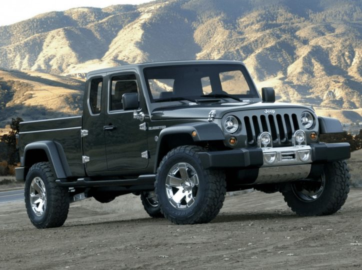 2020 Jeep Gladiator outdoors