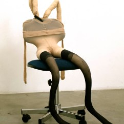 Orange Bucket Chair East Coast And Barstool Reviews Sarah Lucas - Works Gladstone Gallery
