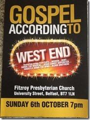 west end gospel