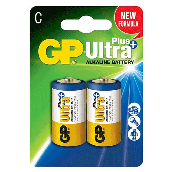 GP Ultra plus Alkaline C-Size