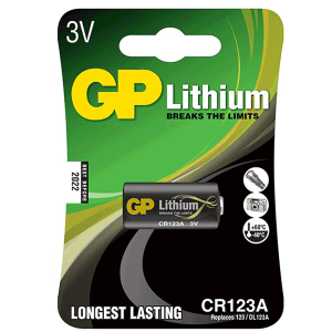 GP Photo Lithium CR123A 3V