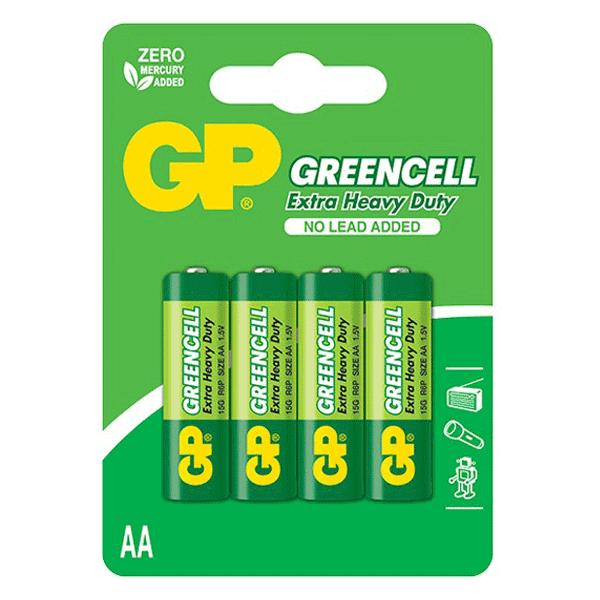 GP Greencell Carbon Zinc AA
