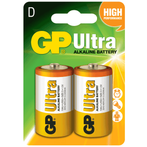 GP Ultra Alkaline D-Size