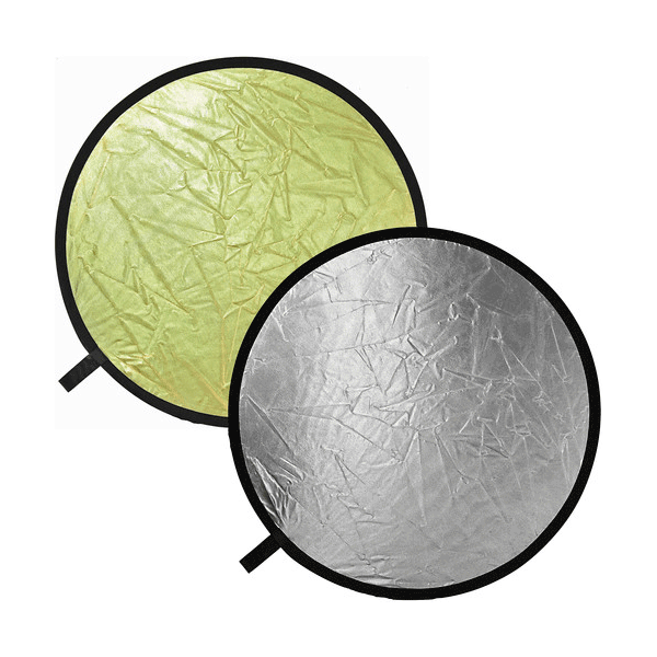 Bowens 81cm Reflector Disc Gold/ Silver