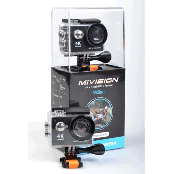 MiVision W9se Action Camera 4K