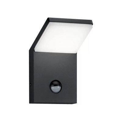 Pearl Angled LED Outside Security Light with PIR