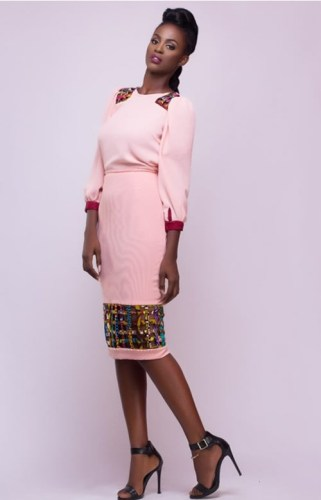 AFROMODTRENDS-BLOUSE-ABLA-MESH-SKIRT