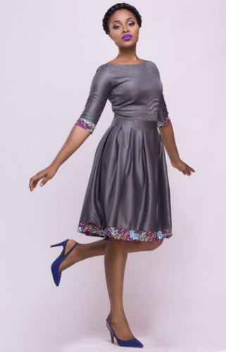 YAASOMUAH-AFROMOD TRENDS-ENAM-PLEATED-DRESS