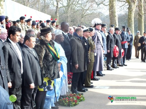 Commonwealth Leaders at the Wreath Laying Ceremony (Medium)