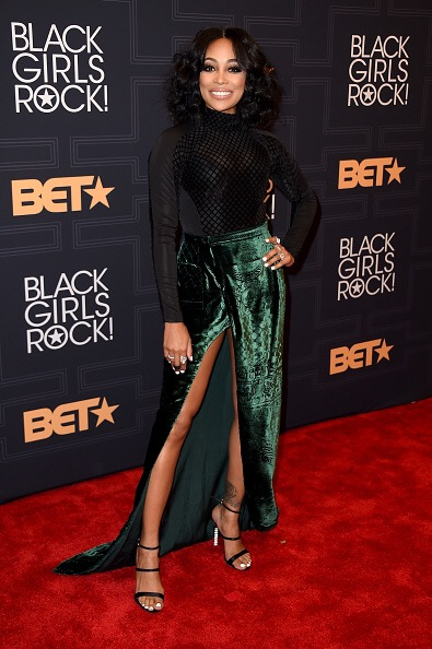 NEWARK, NEW JERSEY - APRIL 01: Singer Monica attends Black Girls Rock! 2016 on April 1, 2016 in New York City. (Photo by Nicholas Hunt/BET/Getty Images for BET)