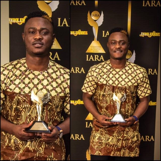 Moelogo winner of Best Afro Beat UK Artist 2016