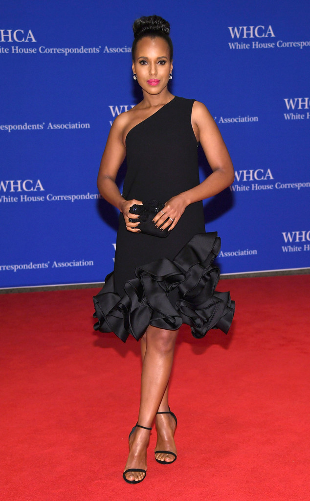 Here she is again at the White House for the WHCA Dinner