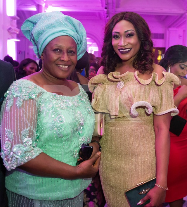 Next to Oge Okoye is Nollywood legend Patience Ozokwor. We were humbled to be in her presence.
