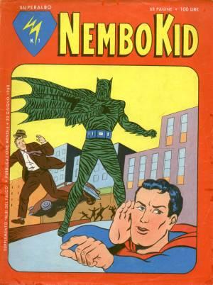 il N°1 di Superalbo Nembo Kid, con la solita copertina a collage
