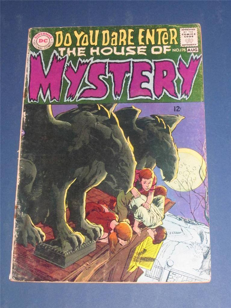 Cover di HOUSE OF MYSTERY n. 175 del 1968