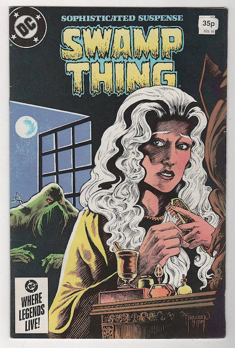 Cover del n. 33 di SWAMP THING