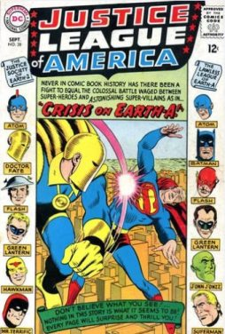 36) The Case of the Disabled Justice League! (Fox/Sekowsky) (06/65- Protagonista Justice League)