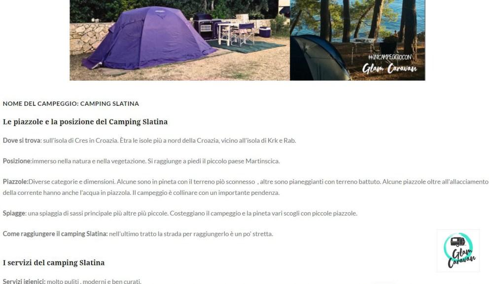 recensione campeggi