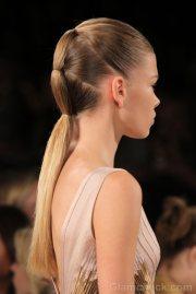 hairstyle futuristic ponytail