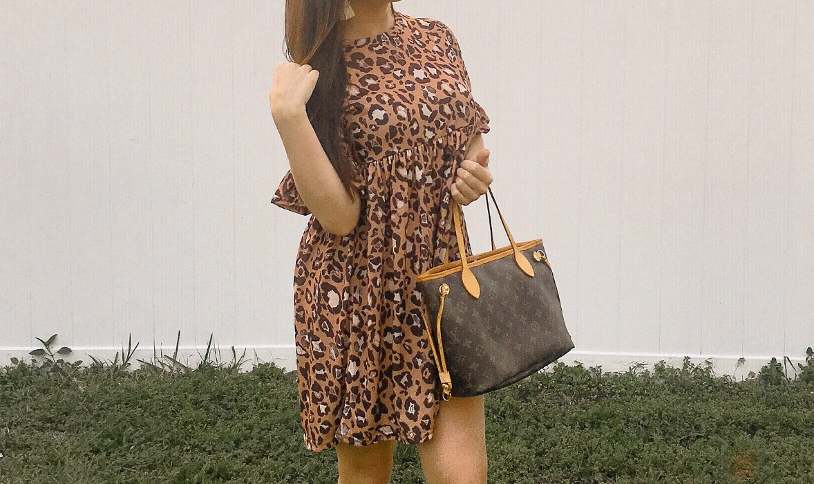 The Cutest Leopard Print Dress Under $40