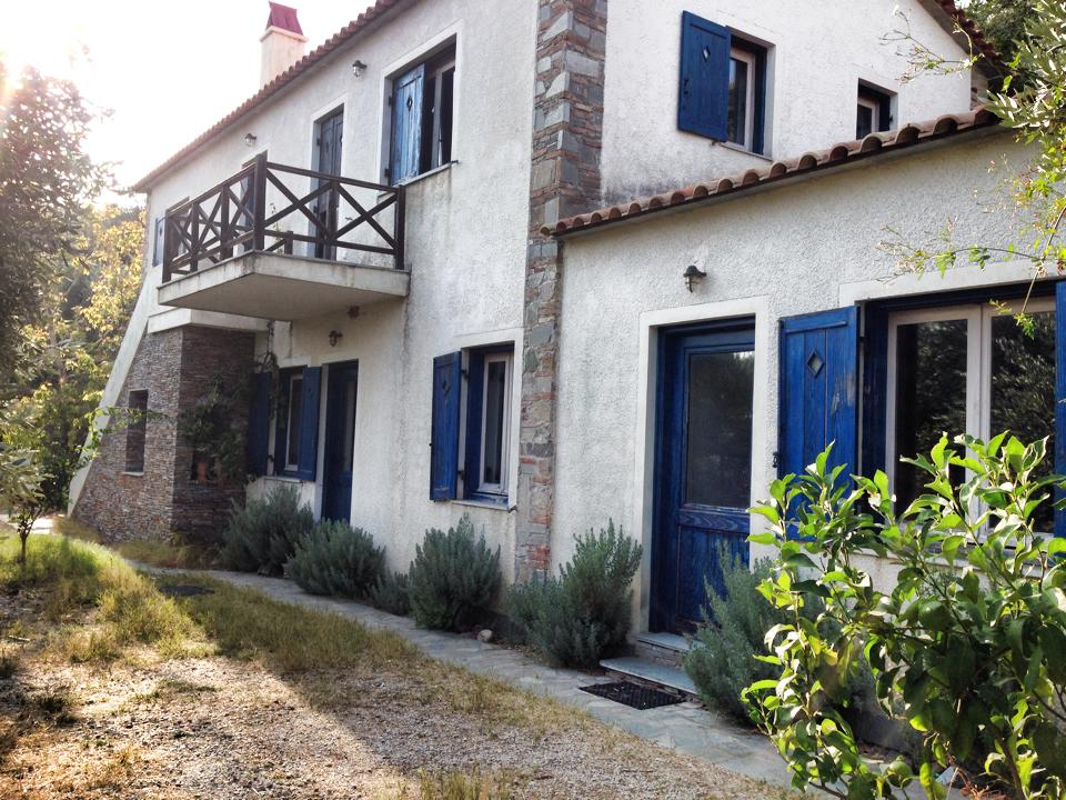 Beautiful accommodations at our WWOOF farm in Greece