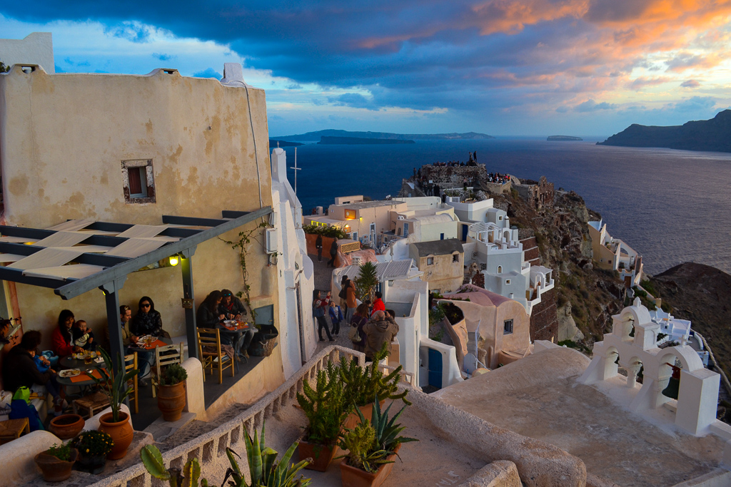 Santorini Greece sunset
