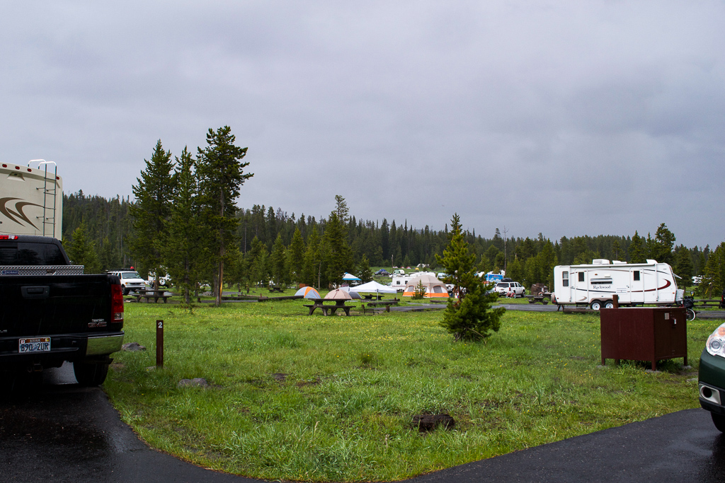 Bridge Bay Campground, Yellowstone National Park