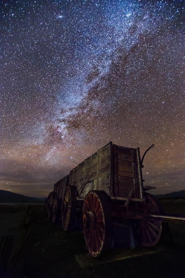 Death Valley Night Sky Milky Way