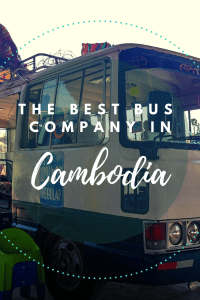 The Best Bus Company in Cambodia | Giant Ibis