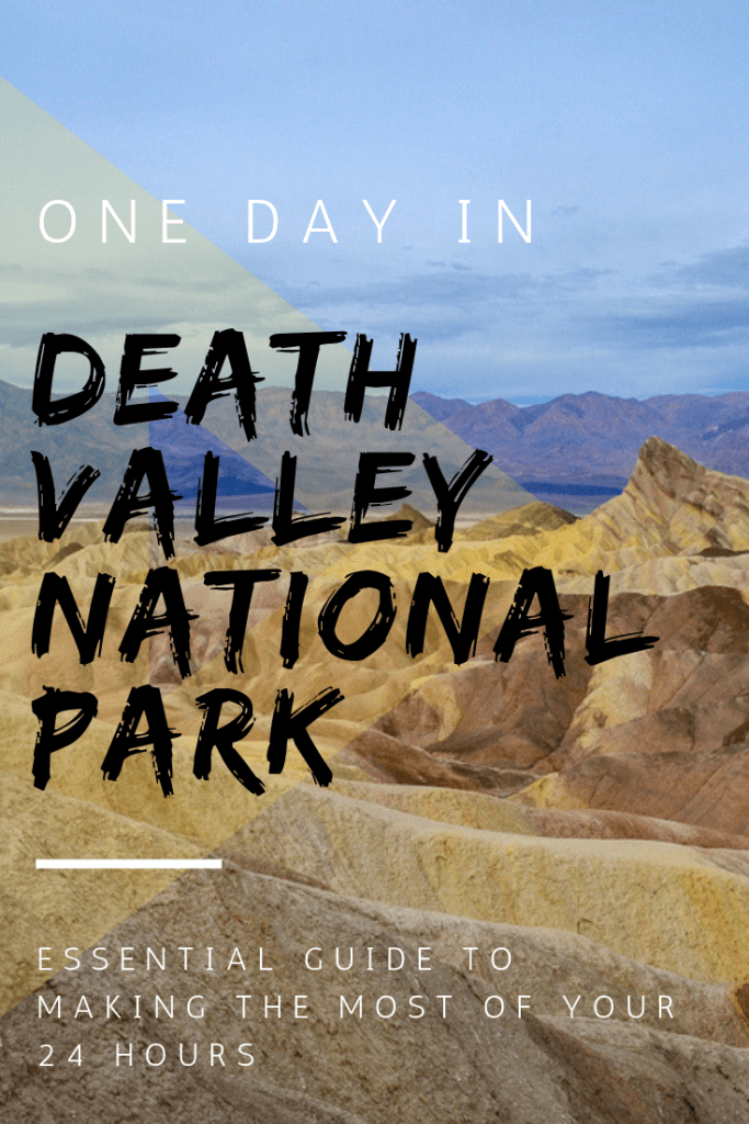 One Day in Death Valley National Park