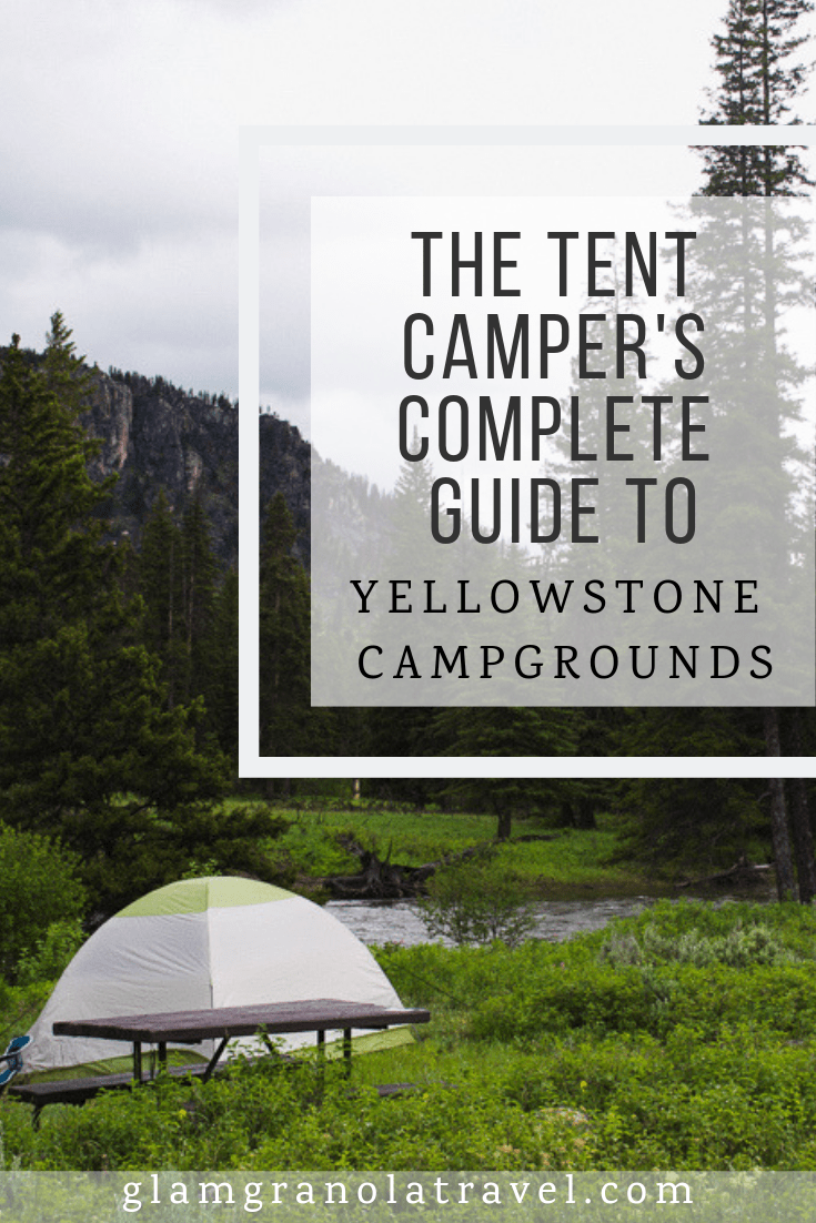 A complete guide to all Yellowstone National Park campgrounds, by tent campers, for tent campers.