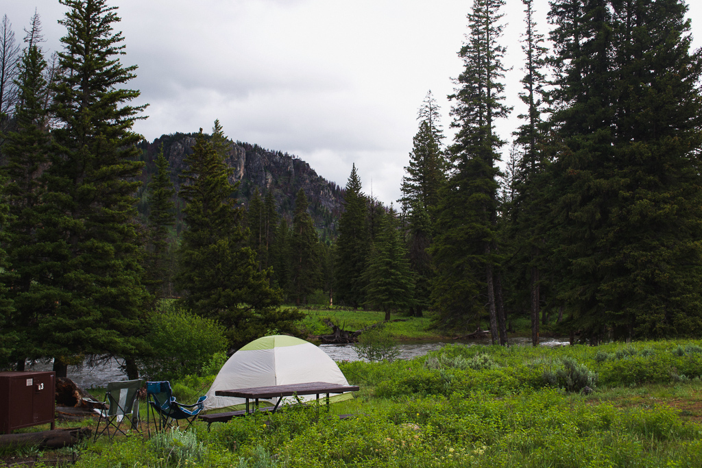 Best Tent Camping in Yellowstone, Slough Creek Campground