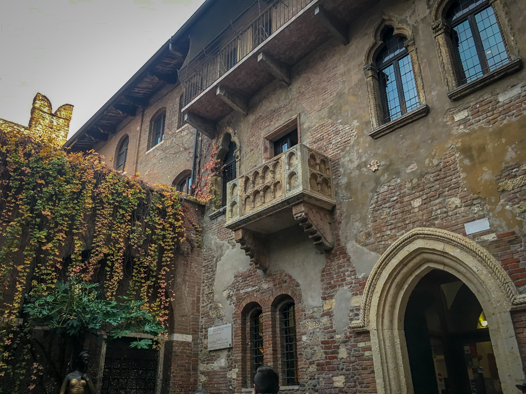 Juliet's Balcony, Verona | 10 Day Italy Itinerary