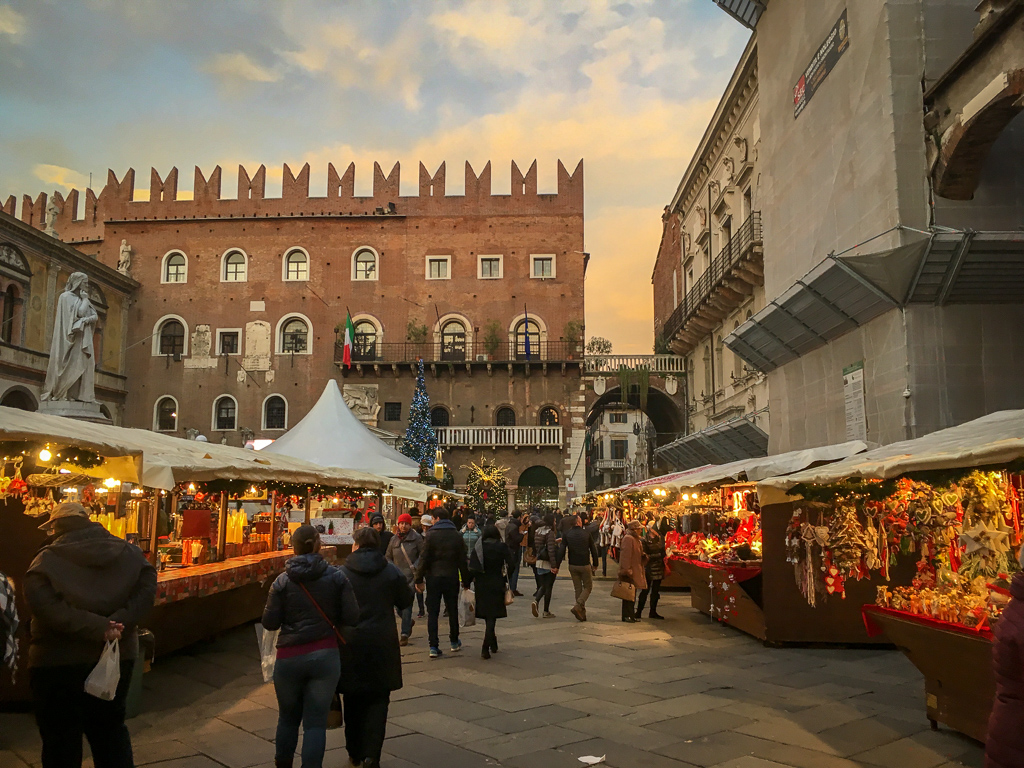 The Verona Christmas market | 10 Day Italy Itinerary