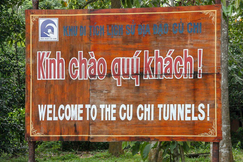 3 Week Vietnam Itinerary Cu Chi Tunnels
